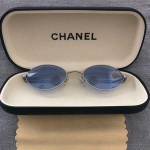 Chanel temple sunglasses